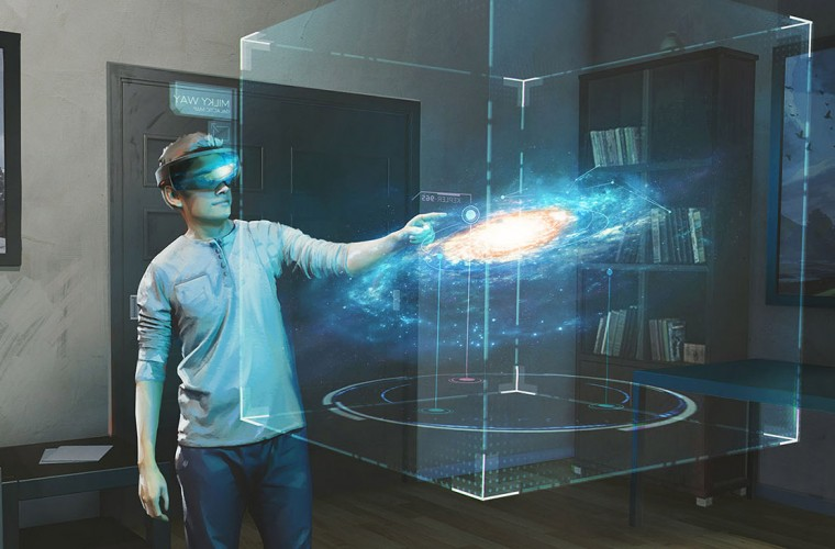 Microsoft Studios Laying Foundations Of Galaxy Explorer App For HoloLens